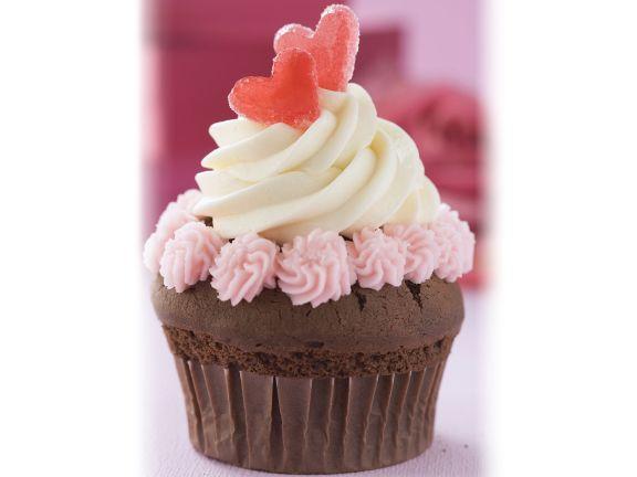 Cupcake mit Herz