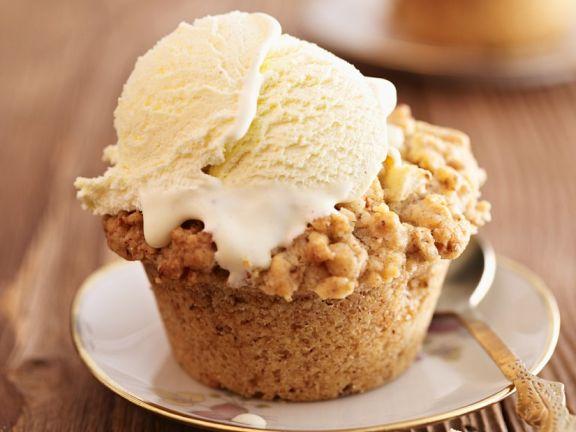 Cupcakes mit Apfel