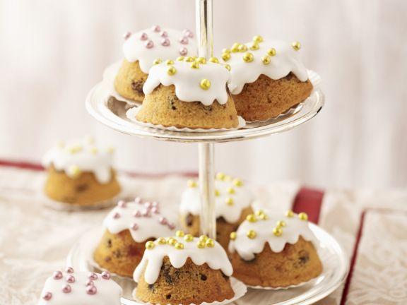 Cupcakes mit Zuckerperlen