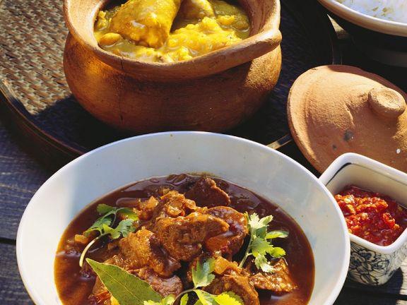 Curry mit Schweinefleisch