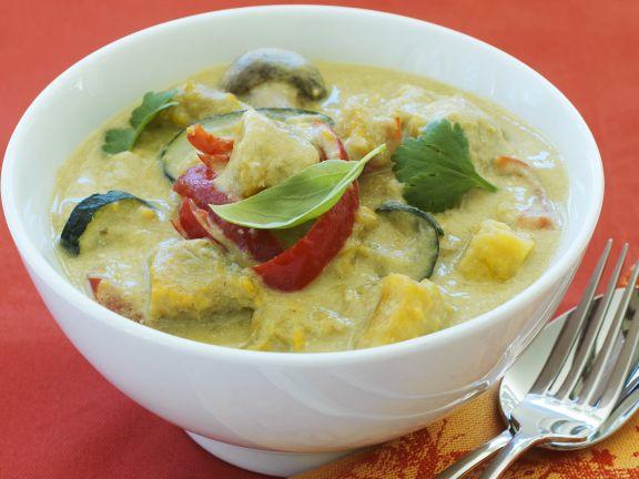 Curry mit Süßkartoffeln
