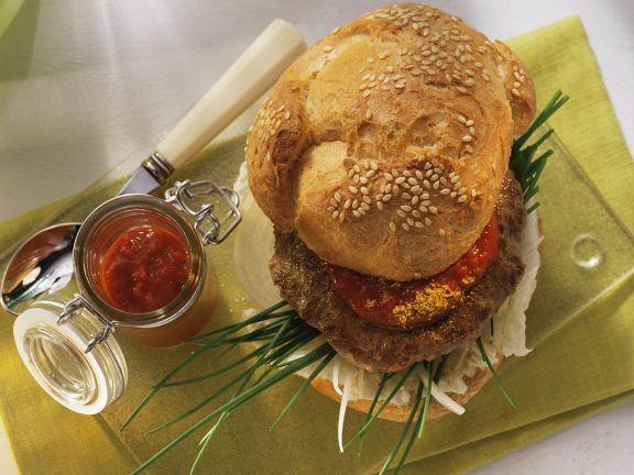 Curry-Paprika-Burger