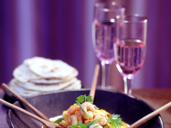 Curry-Shrimps
