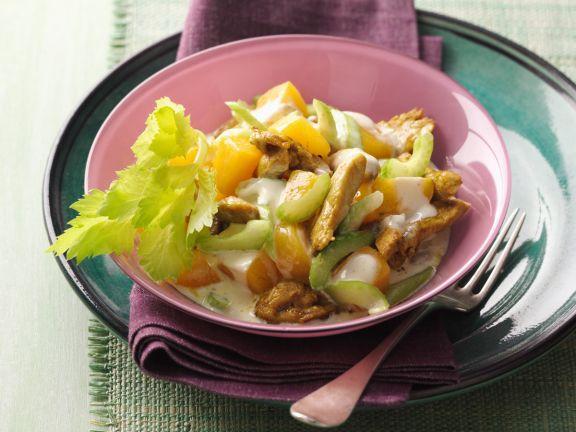 Curryhähnchensalat