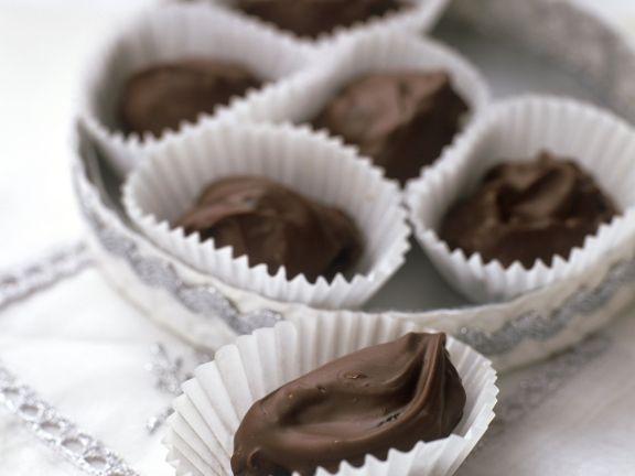 Datteln in Schokolade