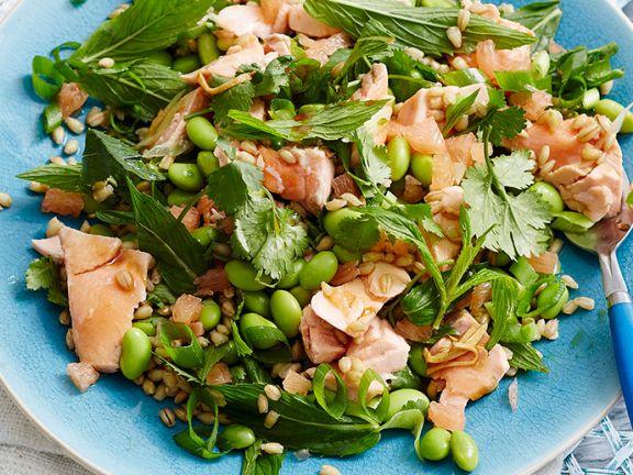 Dinkel-Lachs-Salat