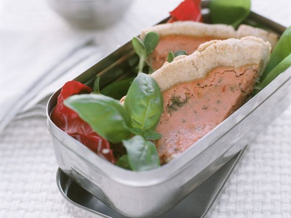Dinkel-Tomatenkuchen