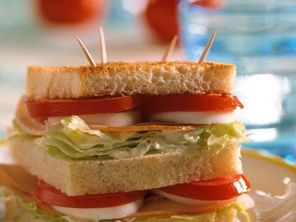 Doppel-Putensandwich