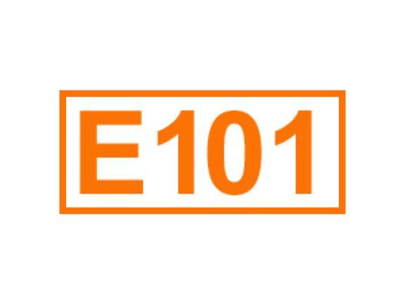 E 101 ein Lebensmittelfarbstoff