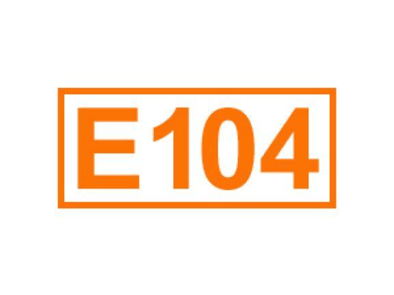 E 104 ein Farbstoff