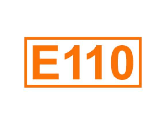 E 110 ein Farbstoff