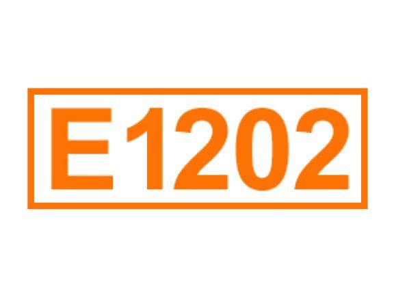 E 1202 ein Lebensmittelträgerstoff