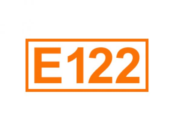 E 122 ein Farbstoff