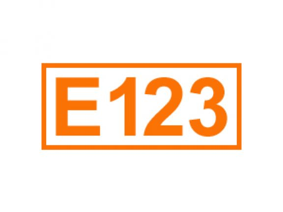 E 123 ein Farbstoff
