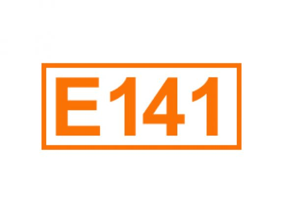 E 141 ein Farbstoff