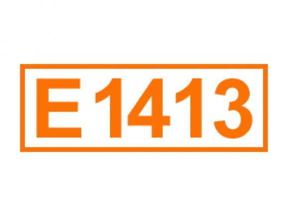 E 1413 ein Lebensmittelstabilisator