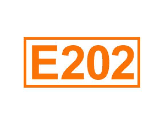 E 202 ein Konservierungsstoff