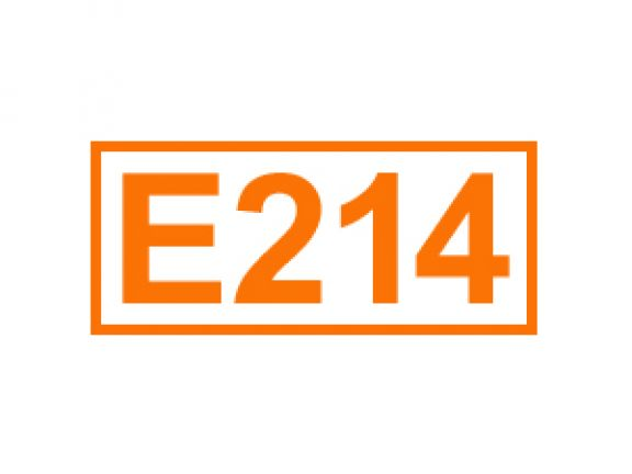 E 214 ein Konservierungsstoff
