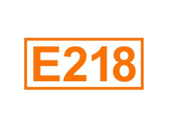 E 218 ein Konservierungsstoff