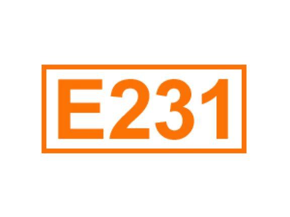 E 231 ein Konservierungsstoff