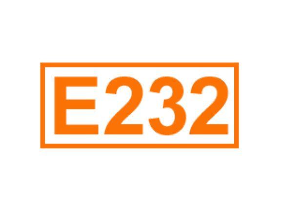 E 232 ein Konservierungsstoff