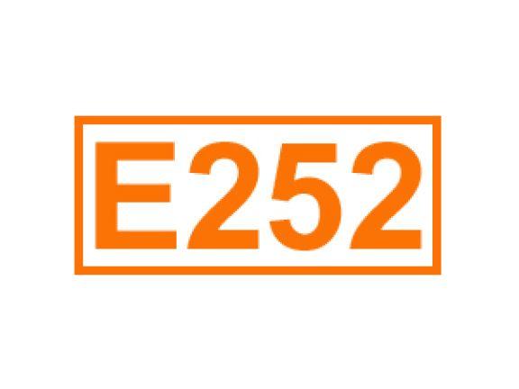 E 252 ein Konservierungsstoff