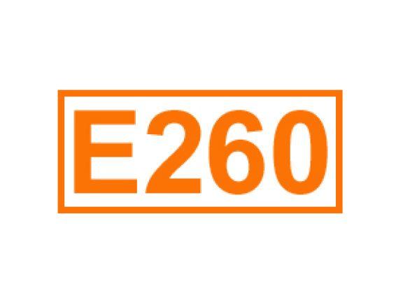 E 260 ein Konservierungsstoff