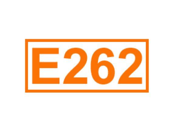 E 262 ein Konservierungsstoff