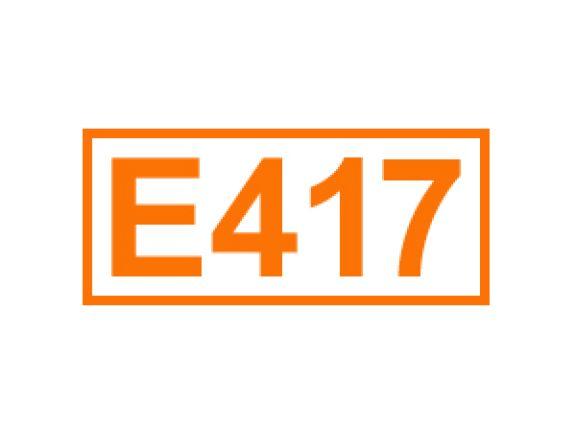 E 417 ein Füllstoff