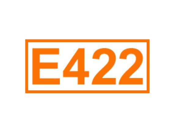 E 422 ein Feuchthaltemittel