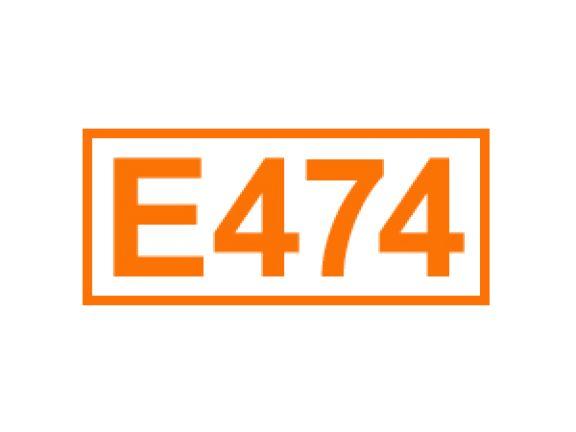 E 474 ein Emulgator