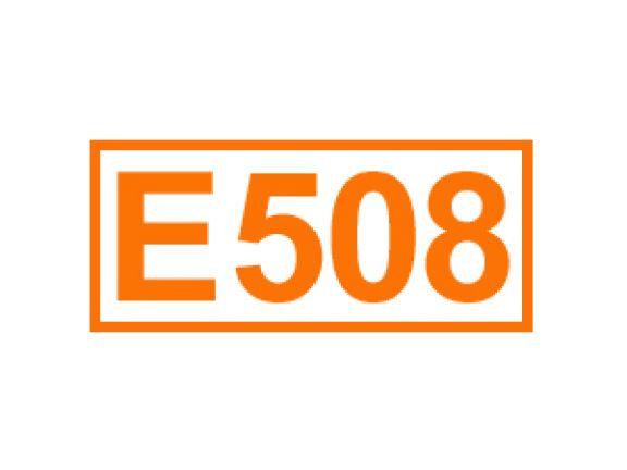 E 508 ein Festigungsmittel