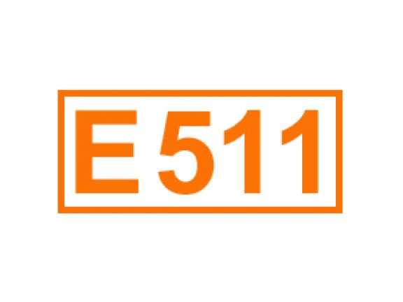 E 511 u.a. ein Festigungsmittel