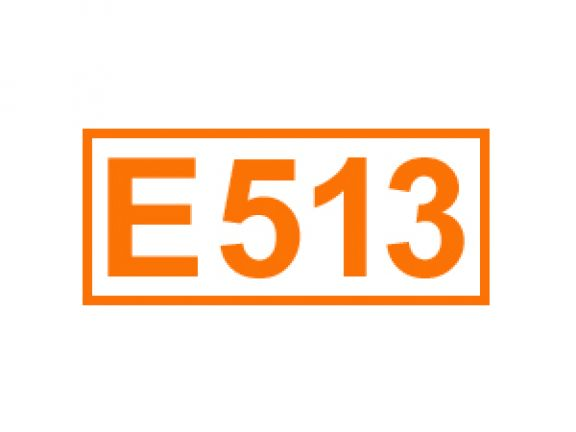 E 513 ein Säuerungsmittel