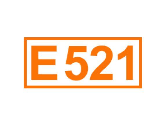 E 521 ein Festigungsmittel