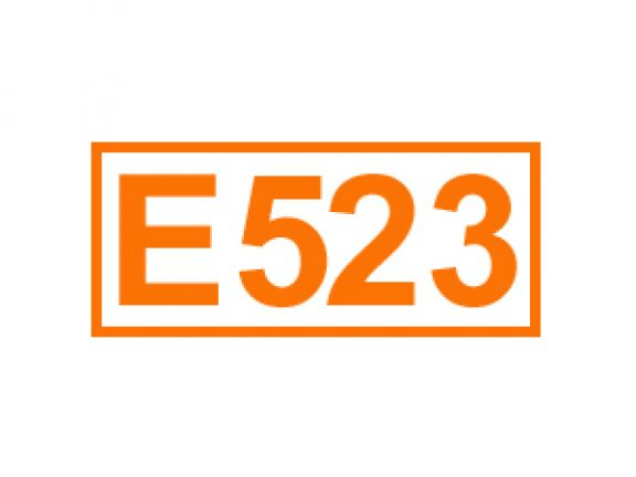E 523 ein Festigungsmittel