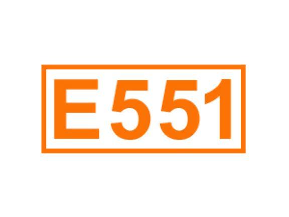 E 551 ein Füllstoff