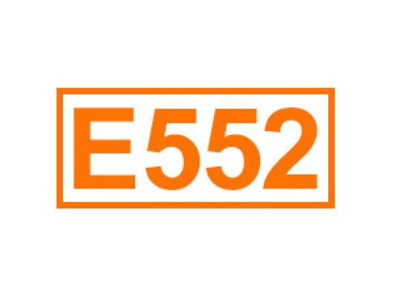 E 552 ein Trennmittel