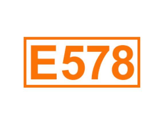 E 578 ein Komplexbildner
