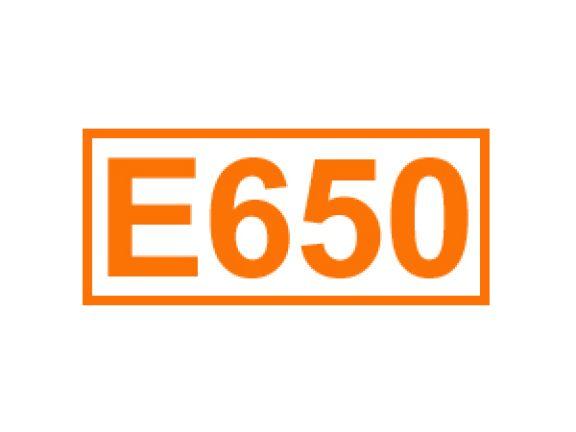 E 650 ein Geschmacksverstärker