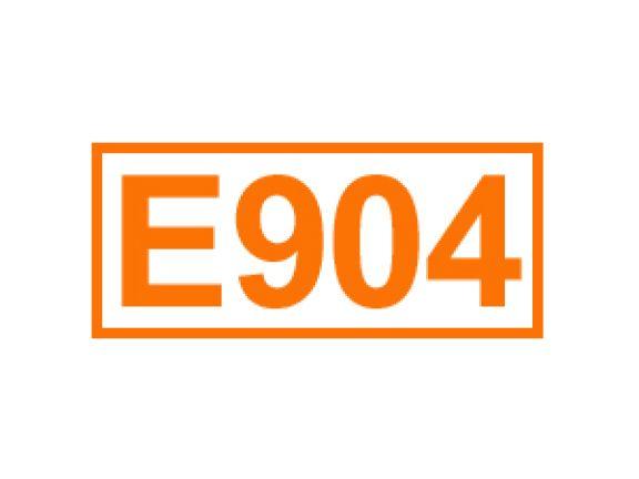 E 904 ein Überzugsmittel