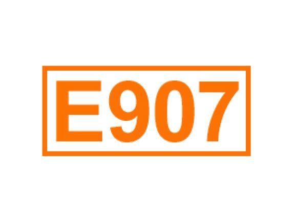 E 907 ein Überzugsmittel