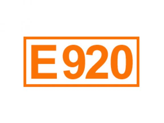 E 920 ein Mehlbehandlungsmittel