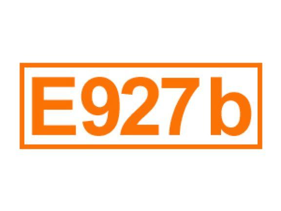 E 927 b ein Stabilisator