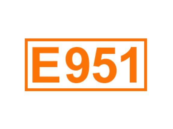 E 951 ein Süßungsmittel