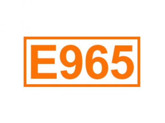 E 965 ein Lebensmittelträgerstoff