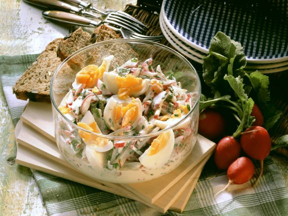 Eier-Radieschen-Salat