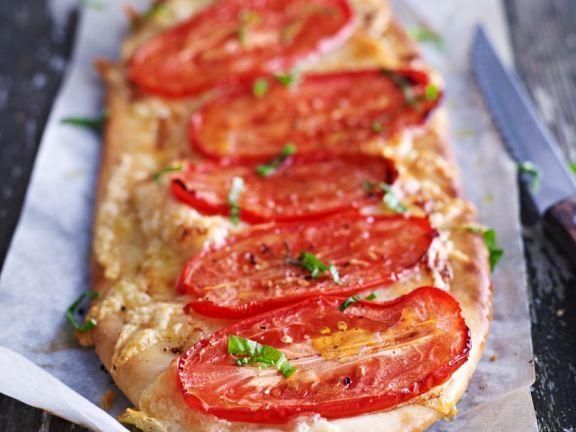 Eiertomaten-Pizza