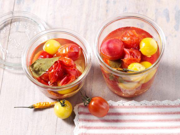 Eingekochte Tomaten