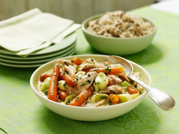 Eintopf mit Pute und Gemüse